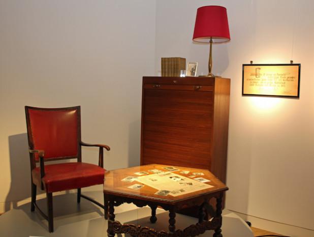 Teile des Arbeitszimmers von Dr. August Dresbach sind in der Sonderausstellung zu sehen (Foto: OBK).
