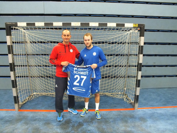 Emir Kurtagic (links) und Kevin Schmidt (rechts) - Foto: VfL Gummersbach