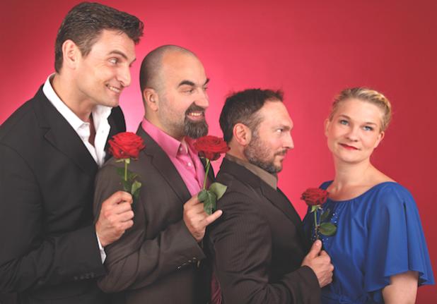 """Die Improvisationstheatergruppe """"Springmaus"""" - Foto: Nina Schöner"""