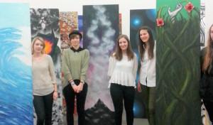 Wiehl: Teilnahme des DBG am Evonik Jugendkunstpreis 2015 in Duisburg