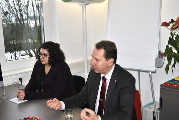 Jochen Hagt äußerte sich zu momentan relevanten Themen des Kreises