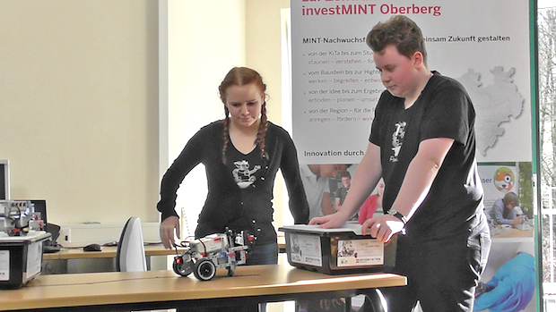 Bild von Vierter Roboterwettbewerb ist ausgebucht