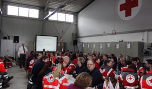 Jahresdienstbesprechung Deutsches Rotes Kreuz