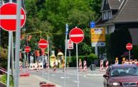 Hückeswagen: Vollsperrung Montanusstraße