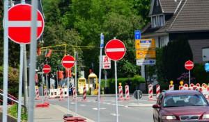 Gummersbach: Kanalbau in der Brückenstraße