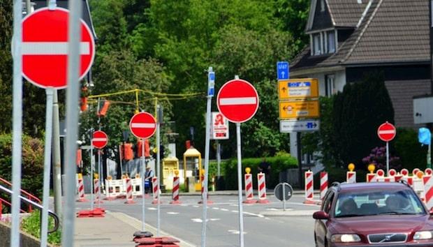Photo of Gummersbach: Kanalbau in der Brückenstraße