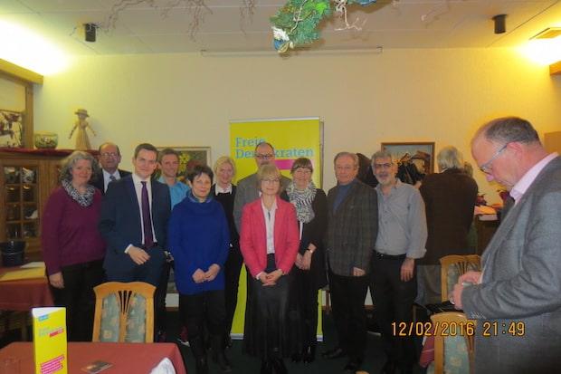 Photo of Vorstand der FDP Gummersbach fast unverändert bestätigt