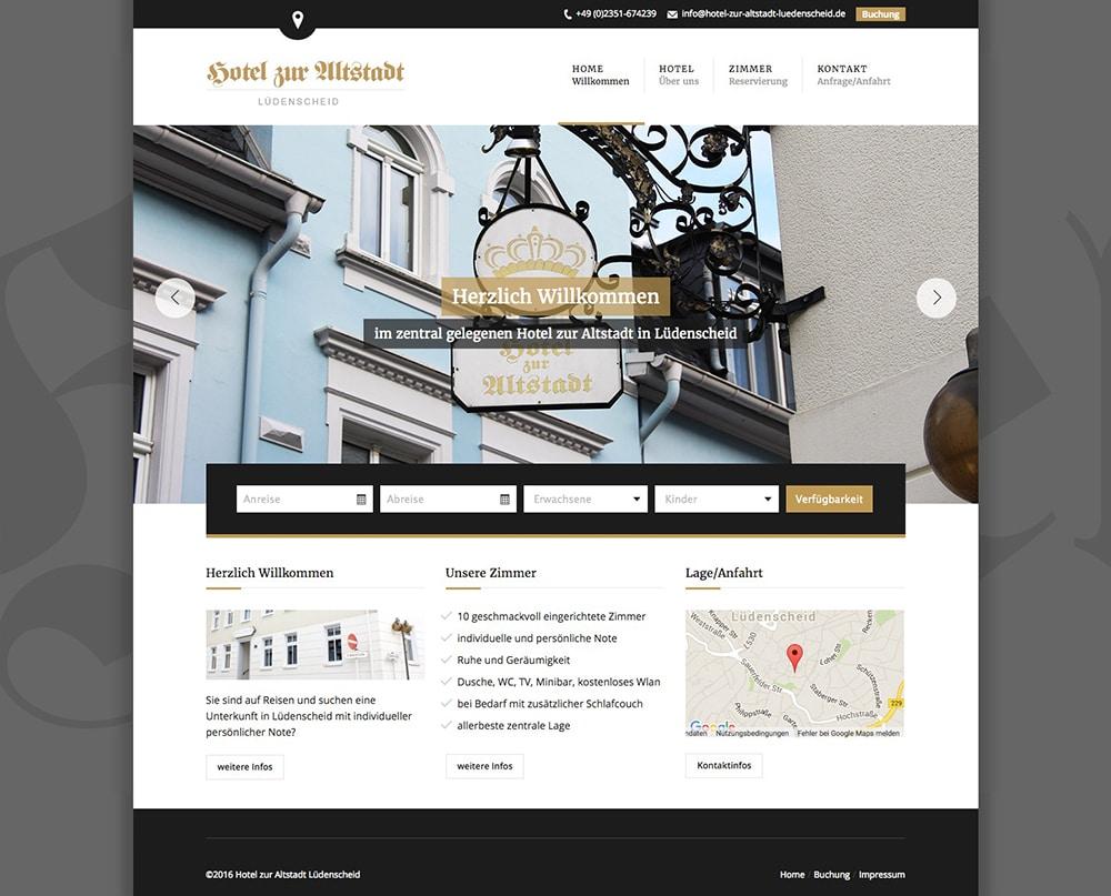 Photo of Relaunch einer Hotel-Homepage (vorher/nachher Vergleich)