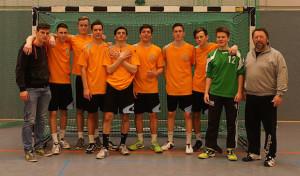 Handballer der Gesamtschule Marienheide Kreismeister in der WKI