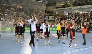 Fotos: DHB-Auswahl siegt in der SCHWALBE Arena in Gummersbach