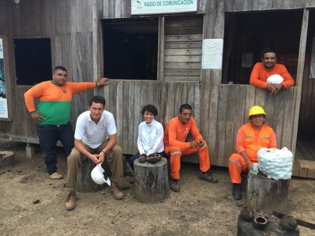 Dreharbeiten in den Tropenwäldern Kolumbiens (Quelle: BioMaderas GmbH)