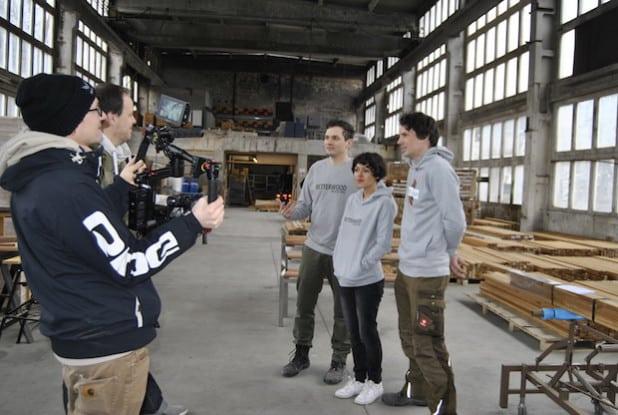 Philip Jaeger, Catherine Körting und Raffael Jaeger im Interview mit Pro7