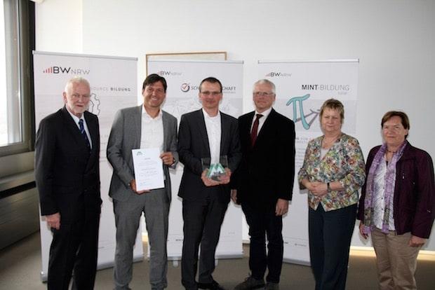 Photo of Gesamtschule Gummersbach als MINT-Schule ausgezeichnet
