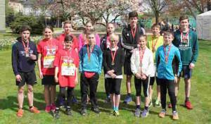 Marienheide: Start beim Bonner Schulmarathon 2016