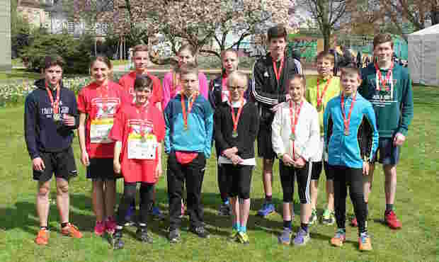 Photo of Marienheide: Start beim Bonner Schulmarathon 2016
