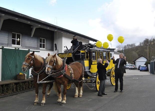 Photo of Nümbrecht/Wiehl: Die Postkutsche läutet den Frühling im Oberbergischen ein
