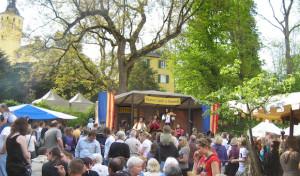 Mittelalterlicher Markt zu Nümbrecht auf Schloss Homburg