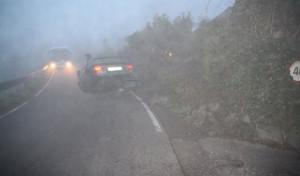 Waldbröl:  Drei Leichtverletzte bei Alleinunfall