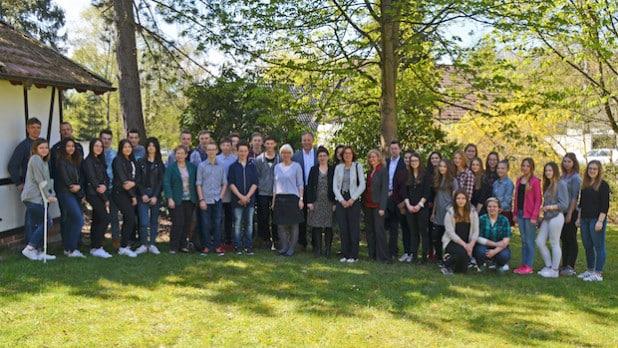31 Schülerinnen und Schüler der Gesamtschule Waldbröl haben das Weitblick-Projekt gemeistert.(Foto: OBK)
