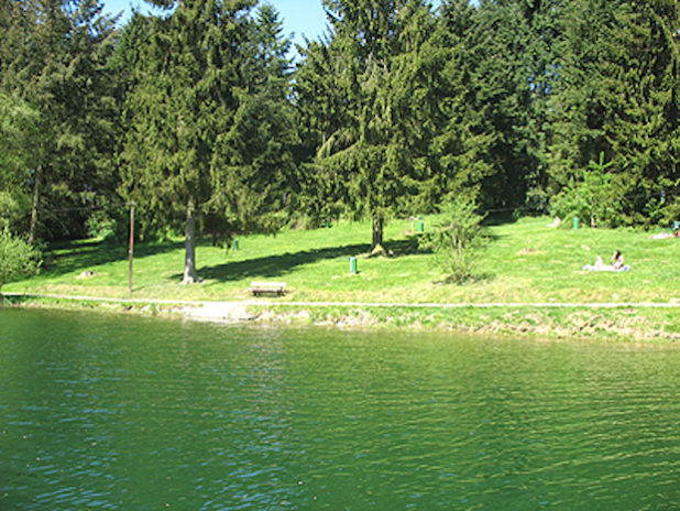 Das Gesundheitsamt des Oberbergischen Kreises startete die Überprüfung der Wasserqualität am 09. Mai 2016 an der Bevertalsperre. (Foto: OBK)