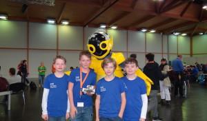 Wipperfürth: EvB-Schüler bei RoboCup Junior Finale 2016 in Magdeburg