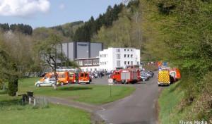 Engelskirchen: Explosion in Ründerother Firma
