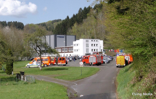 Photo of Engelskirchen: Explosion in Ründerother Firma