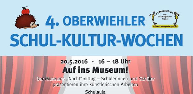 """Photo of Terminveröffentlichung  """"4. Oberwiehler  Schul-Kultur-Wochen"""""""