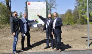Lückenschluss! Panarbora-Radweg in Waldbröl eröffnet
