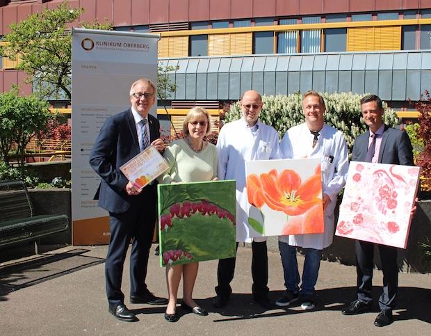 Photo of Gummersbach: Blumenbilder für die Schlaganfall-Initiative Oberberg