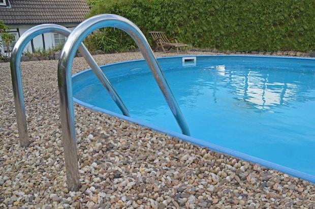 Pool leiter 03 for Garten pool leiter
