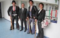 Gummersbach: Wandergesellen zu Besuch in der Kreisverwaltung