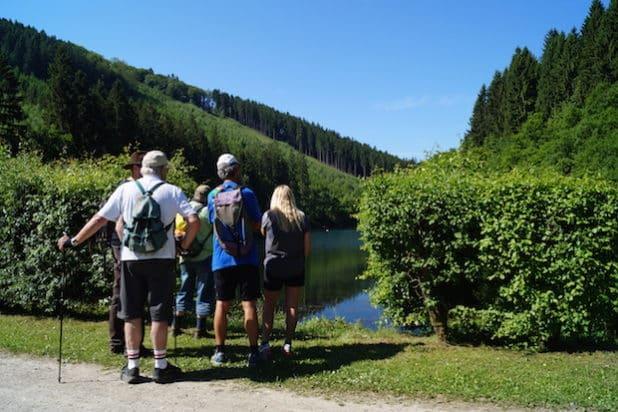 Zahlreiche Besucher aus Nah und Fern haben die Angebote der Bergische Wanderwoche zu einem Besuch im Bergischen genutzt ( Quelle: Das Bergische, Maren Pussak)