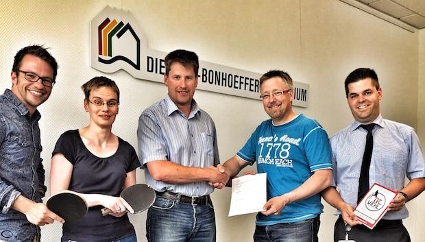 Photo of Kooperation zwischen dem Dietrich-Bonhoeffer-Gymnasium Wiehl und dem TTC Wiehl