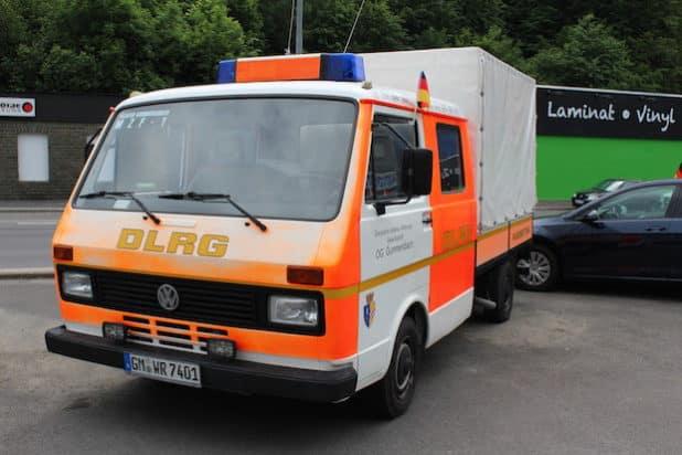 Altes Einsatzfahrzeug der DLRG Gummersbach