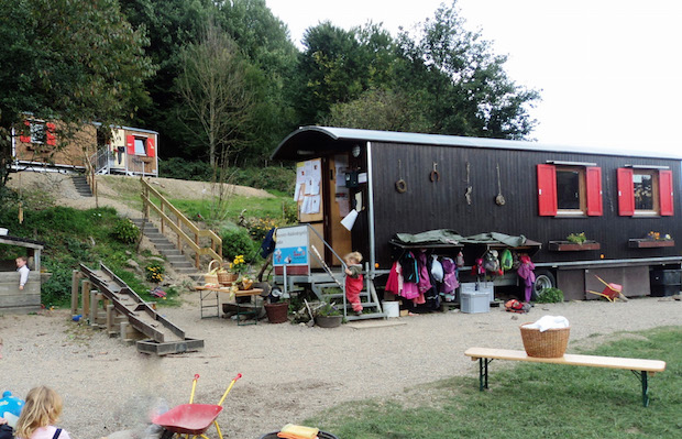 Photo of Offene Tür im Johanniter-Waldkindergarten Lindlar