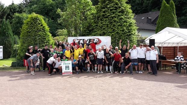 Bild von Engelskirchen: Faustball-Mixed-Turnier des TV Bickenbach