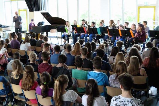 Photo of Internationales Mitmachkonzert in der Gesamtschule Waldbröl