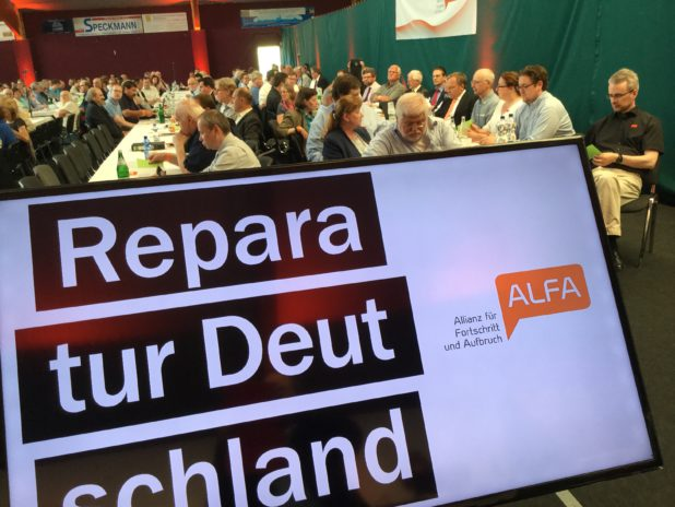 ALFA Bürgerdialog in Gummersbach.