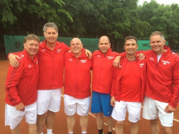 Die erfolgreiche Herren-50-Mannschaft (Foto: Juppi Steinfort)