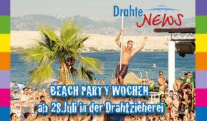 Wipperfürth: Beach-Party Wochen in der Alten Drahtzieherei