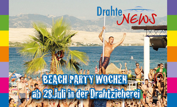 Photo of Wipperfürth: Beach-Party Wochen in der Alten Drahtzieherei