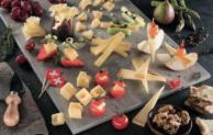 Leckere Käse-Häppchen für die Garten-Party