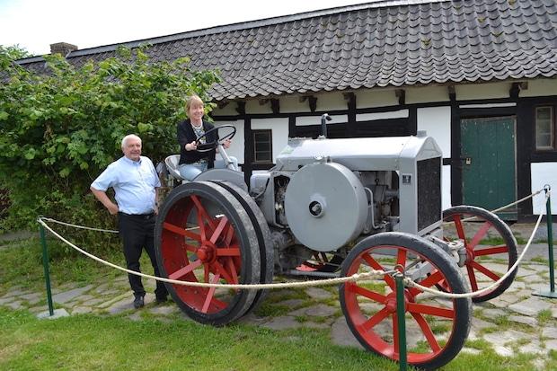 Photo of LVR-Freilichtmuseum Lindlar erhält  historischen Traktor