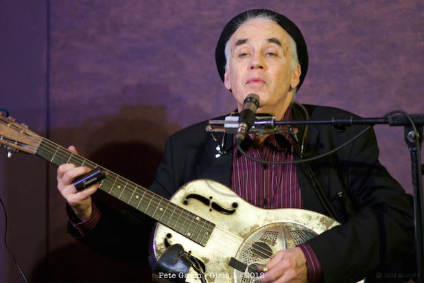 Bluesmusiker Pete Gavin (Foto: P.Gavin)