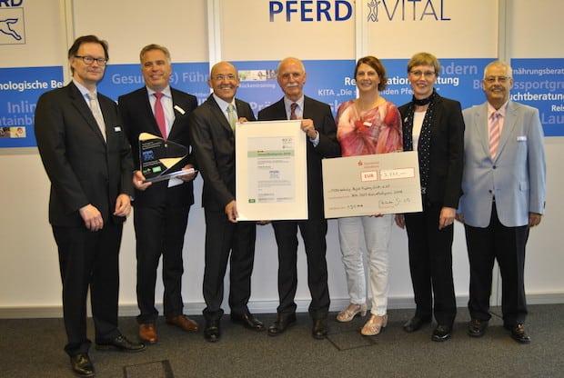 Photo of Marienheide: August Rüggeberg nimmt Gesundheitspreis 2016 entgegen