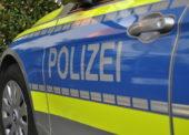 Polizei mit Waffe bedroht