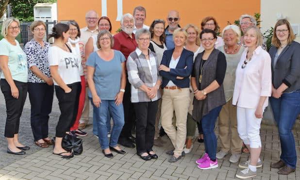 Die Teilnehmergruppe in Waldbröl. (Foto: Evangelischer Kirchenkreis an der Agger - Friederike Klein)
