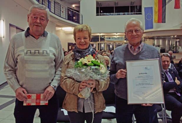 Der Verein für Sport und Gesundheit Wipperfürth e.V., mit Initiatorin Ursula Osberghaus, wurde 2014 Preisträger Nr. 1. (Foto:OBK)