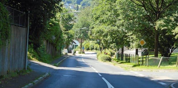 Die Fahrbahn der Wülfringhausener Straße wird auf diesem Teilstück saniert. (Foto: OBK)